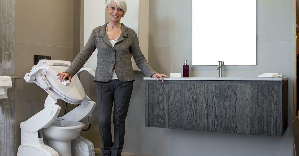 Sollevatore per WC: no alle barriere architettoniche in bagno
