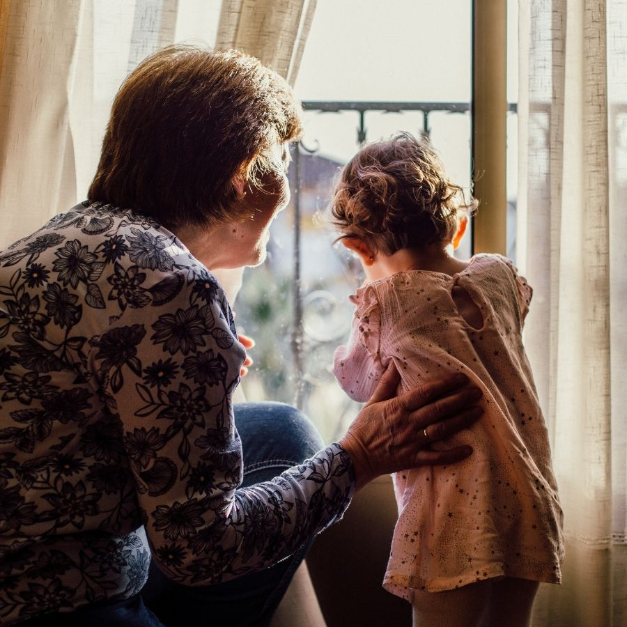 Nonni e bimbi disabili