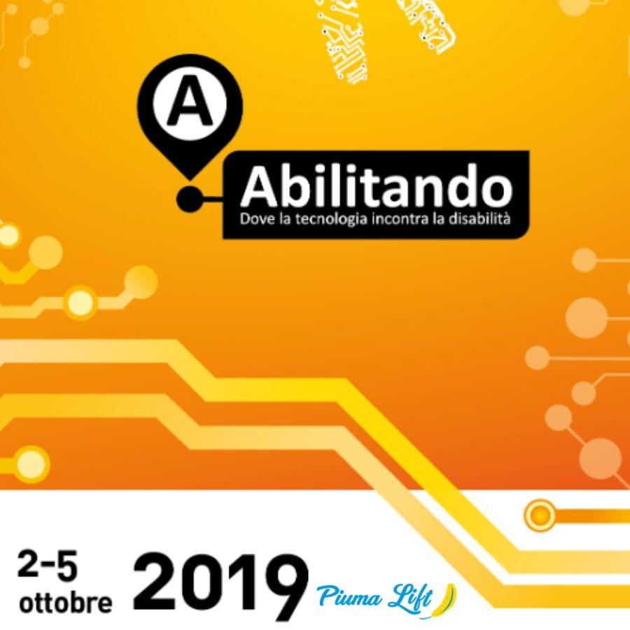 Piumalift sarà presente alla fiera Abilitando: tecnologie e ausili per disabili
