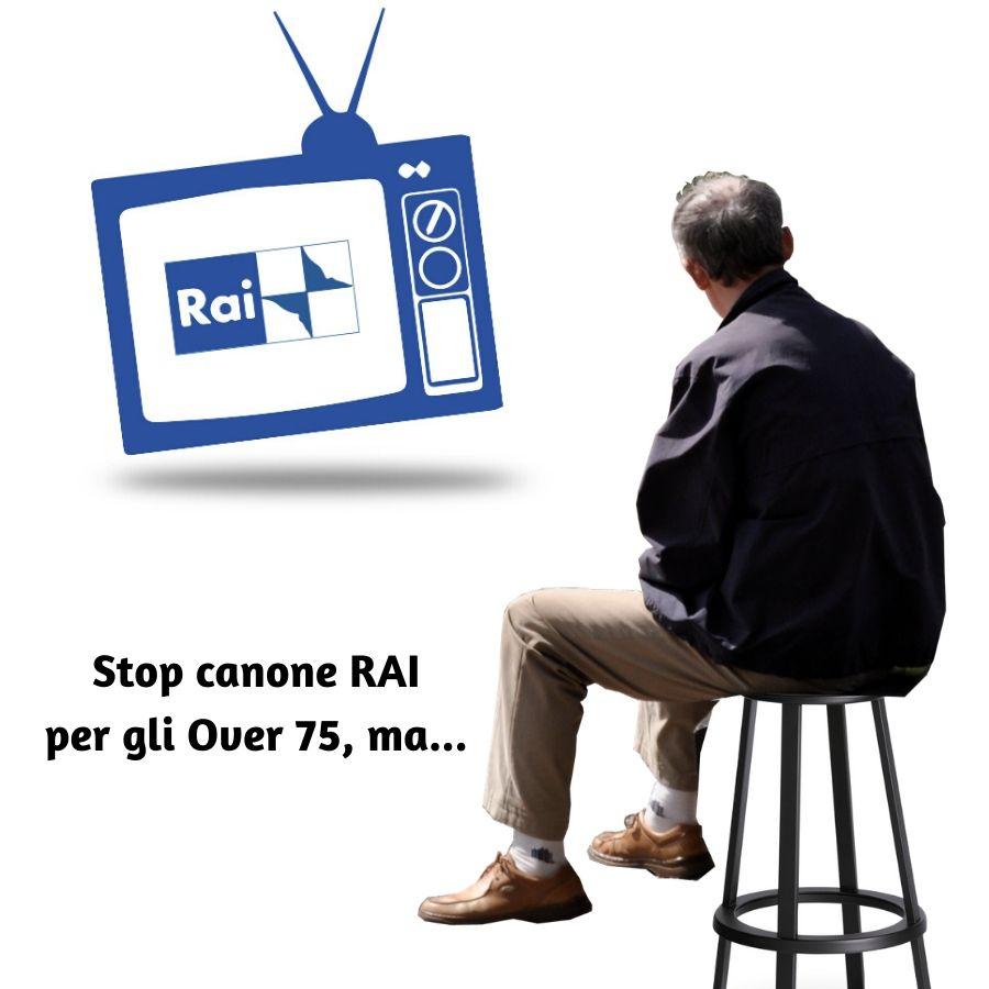 Esenzione canone RAI per gli anziani nel 2020