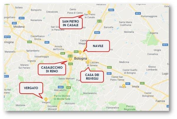 Sportelli uffici CIP-USL Bologna